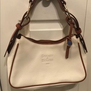 Dooney & Bourke Cream/Brown Purse